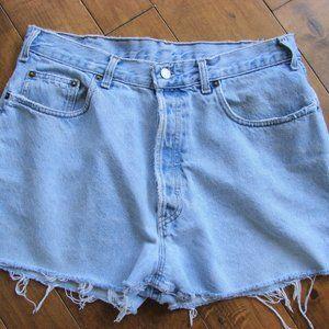 Vintage Gap Denim Distress High Waist Jean Shorts